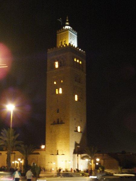 Minareto moschea Koutoubia