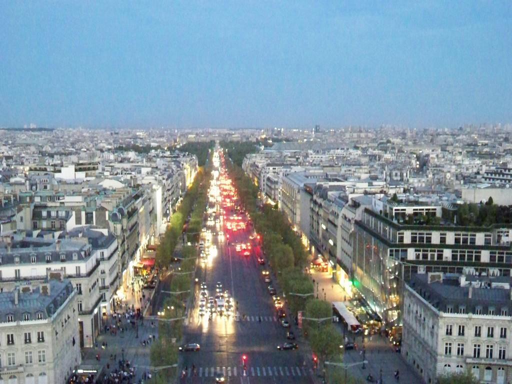 Champs Elisées, Parigi