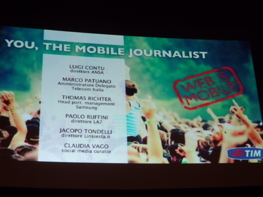 You the mobile journalist