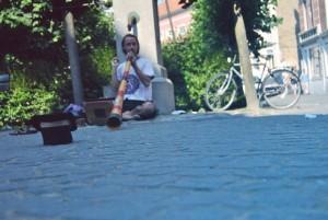 Booohmmm con il Didgeridoo in Belgio