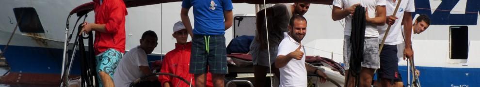 Ventotene in barca
