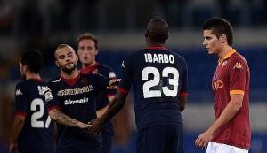 Fine partita Cagliari - Roma