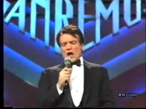 Massimo Ranieri vinse nell'88' con Perdere l'amore il suo secondo Sanremo