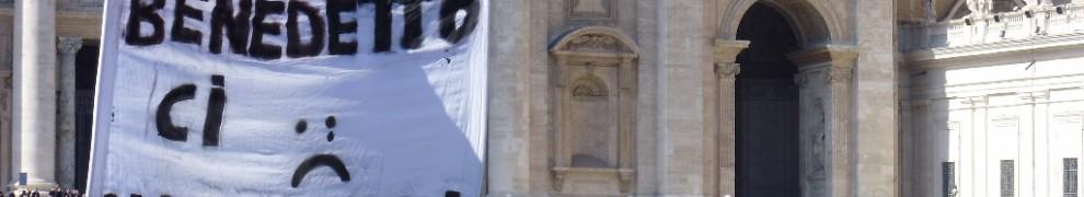 Benedetto XVI ci mancherai