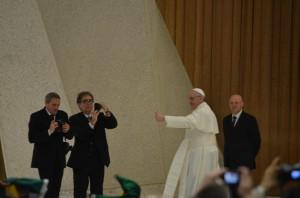 Papa Francesco incontra giornalisti 16.03.2013 - Sara Stefanini (127)