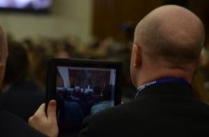 Papa Francesco incontra giornalisti 16.03.2013 - Sara Stefanini (48)