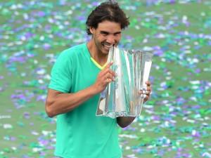 Rafael Nadal, vincitore degli Indian Wells in California